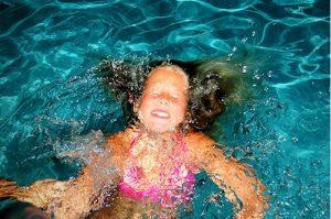 Swimming in the pools at Adagio condos in S Walton FL