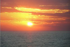 Another gorgeous sunset at Adagio vacation rental condos in 30-A Florida