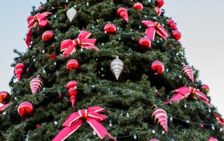 Christmas tree - holiday events on 30A