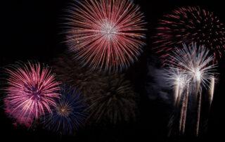 Fireworks at Adagio on 30A