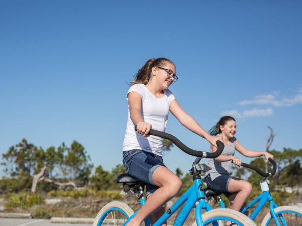 Biking in Grayton Beach State Park