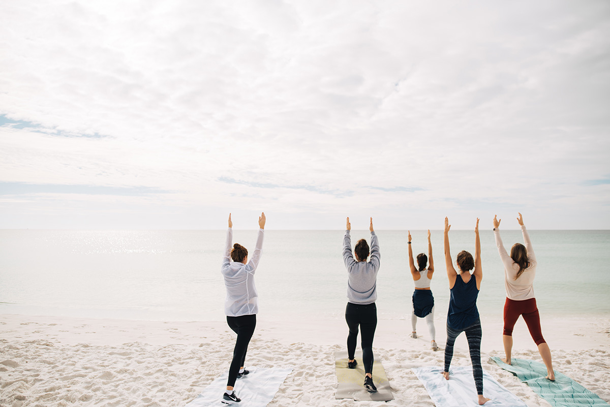 You Must Try Beach Yoga Along 30A!